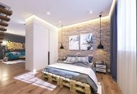 22 Mind Blowing Loft-Style Bedroom Designs | Industrial ...