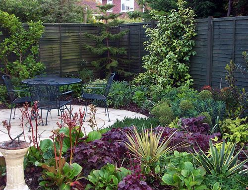 Small North Facing Garden Ideas Google Search School Gardens