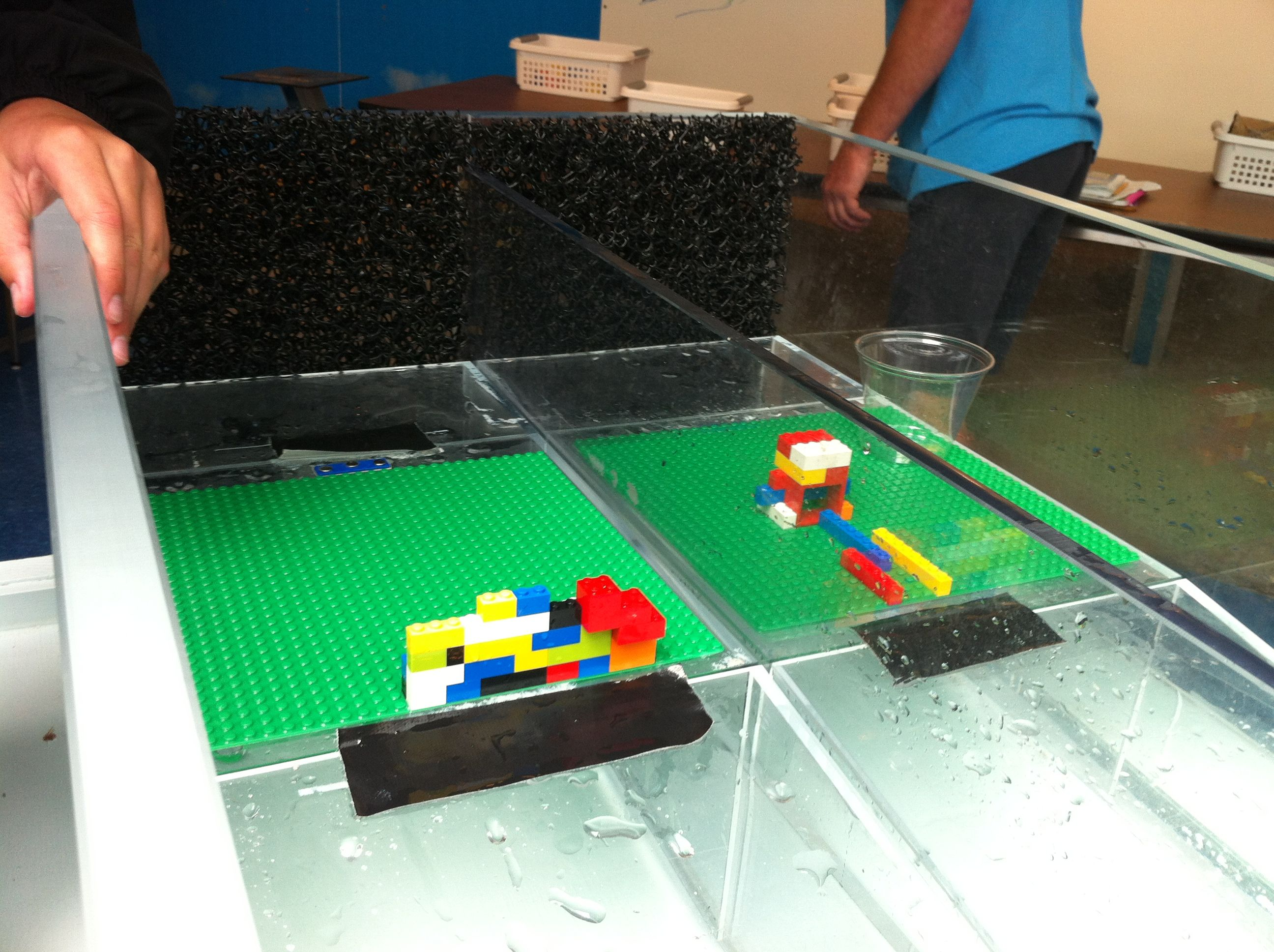 Lego Activity At Tsunami Wave Tank