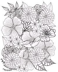 Top 15 Ausmalbilder Fr Erwachsene Blumen - Ausmalbilder ...