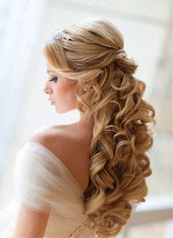Best Half Up Curly Hairstyles Formal' Given And Dress Sleeves
