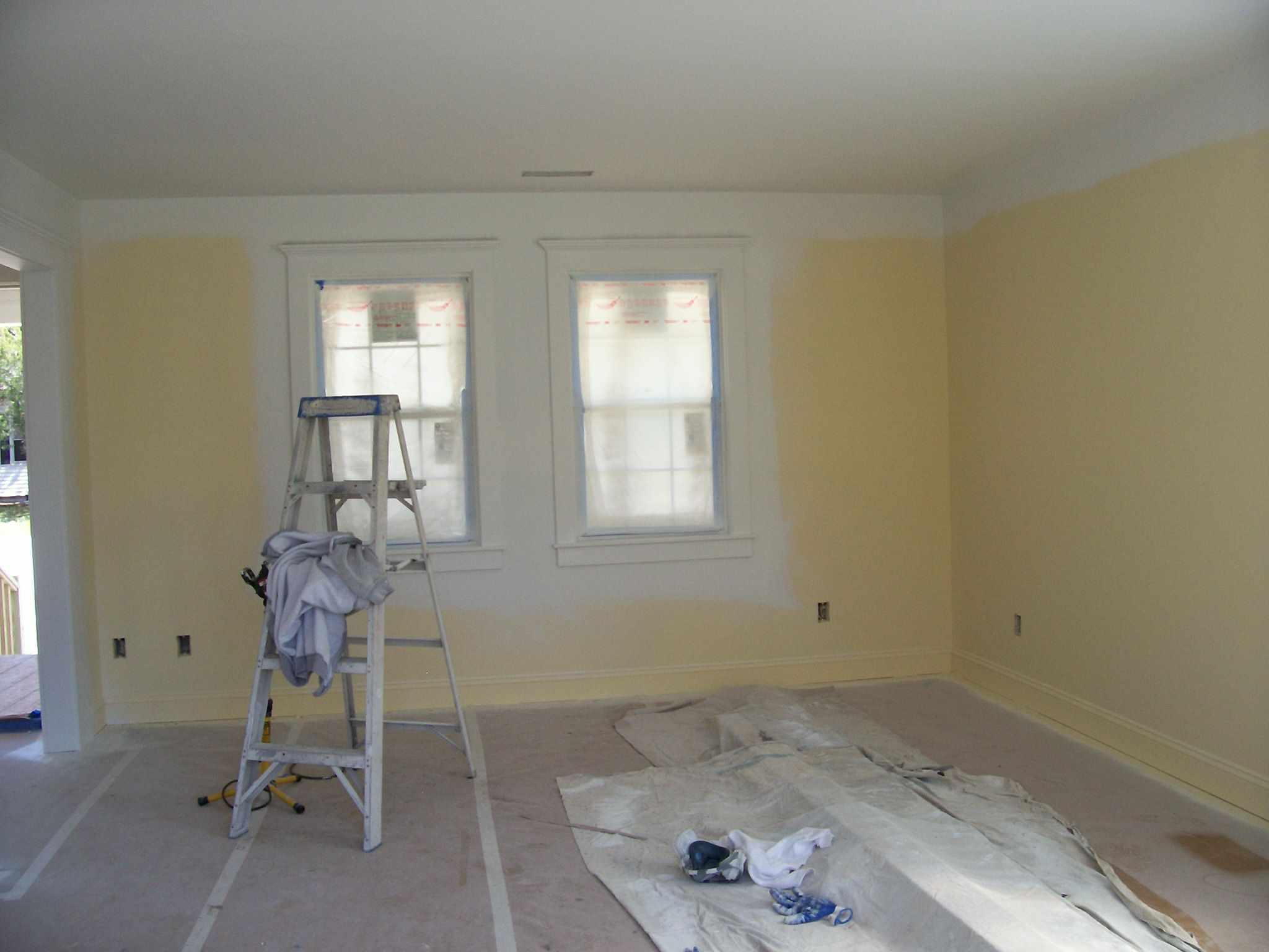March 10 Painting Jersey Cream Construction Of My