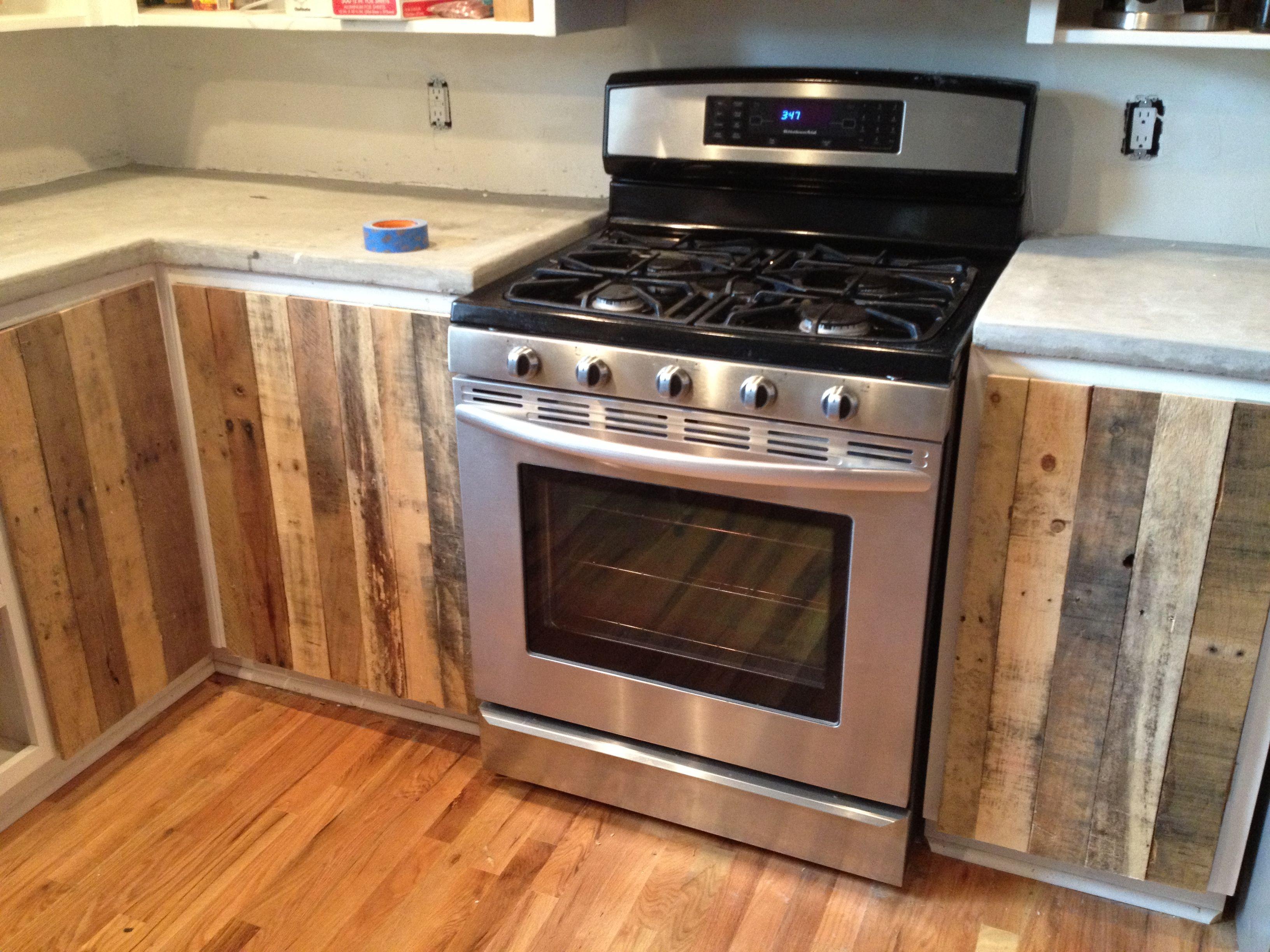 Pallet Kitchen Cabinets DIY  Pallets Designs
