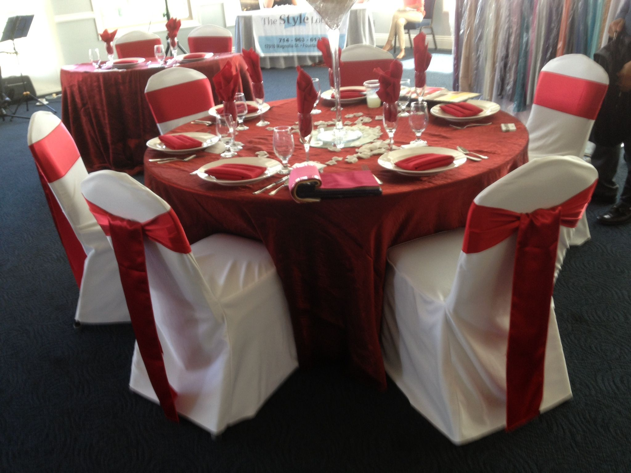 merry christmas chair covers desk leather white cover and red sash chaircovers chaircover