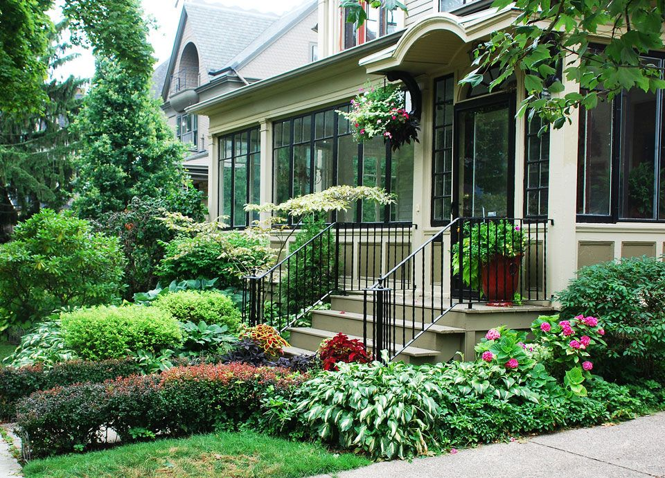 Another Small Victorian Front Yard Garden Landscape Garden Ideas