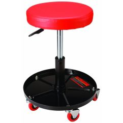 Garage Chair With Wheels Ergonomic Kmart Pneumatic Roller Seat Jewelry Tools Xmas And Craft