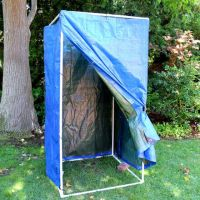How to Make a Homemade Camping Shower | Camp shower ...