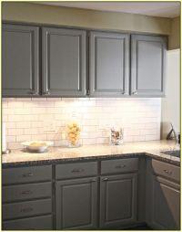 white subway tile backsplash white cabinets | Roselawnlutheran