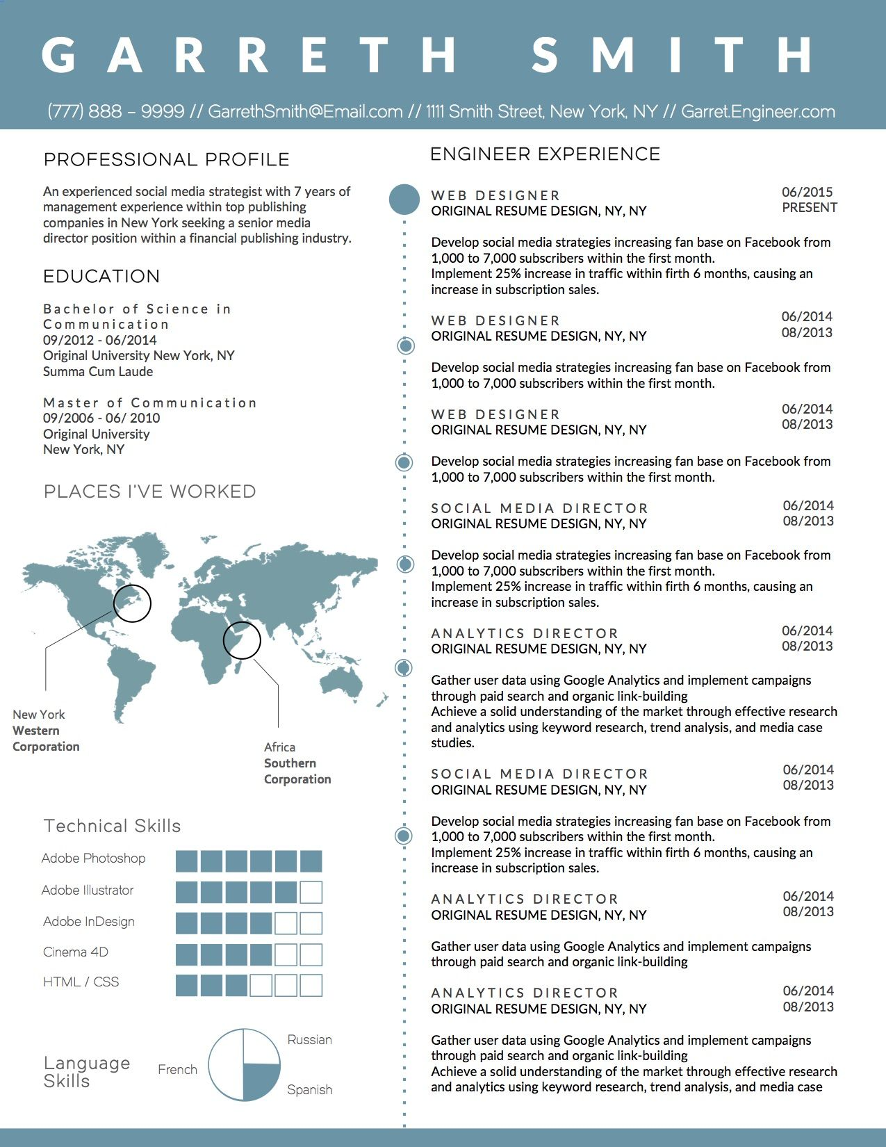 creative resume templates for software engineer