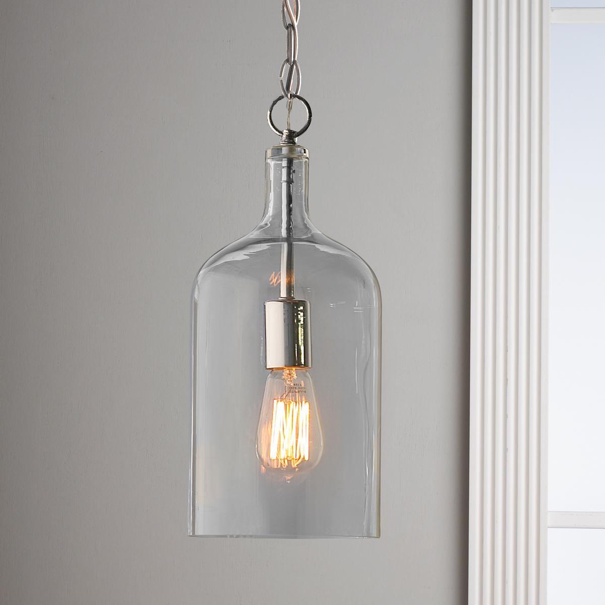 Glass Jug Pendant Light  Discover best ideas about