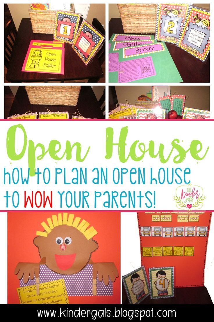 25 Best Kindergarten Orientation Ideas On Pinterest