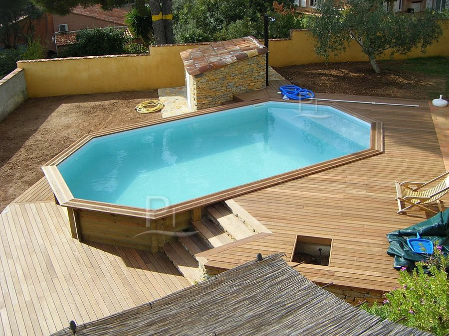 Piscineinlegnoit  Vendita online di accessori per piscine in legno  Poolideen  Pinterest