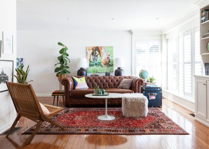 Holly  ryan   modern vintage mix also apartment therapy house tours