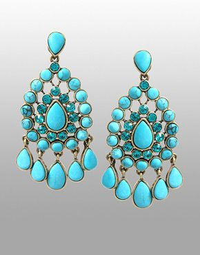 Turquoise Chandelier Earrings Birth Stones Bookmarks Births Asos Chandeliers Accessories