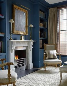 Top leading interior designers by house  garden part also image result for blue library room rooms pinterest rh uk