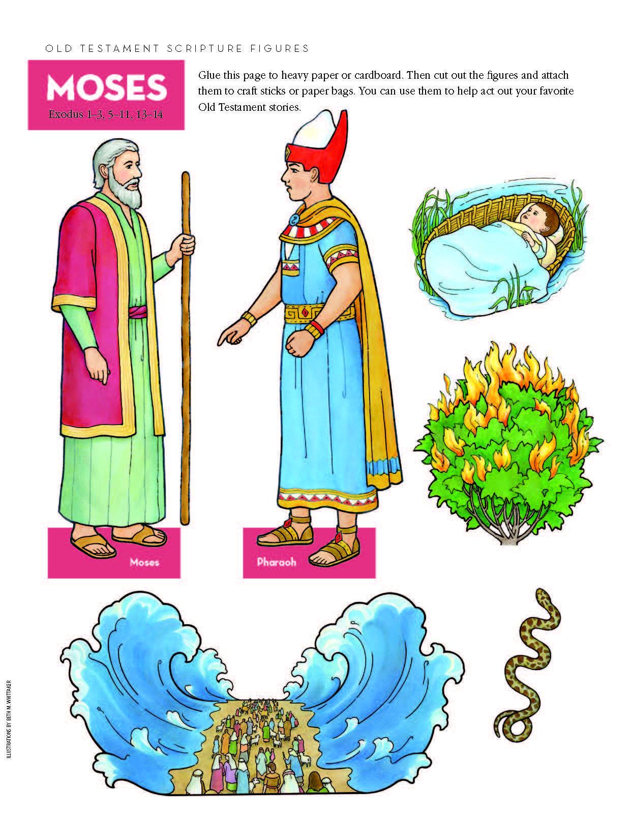 Old Testament Scripture Figures Moses