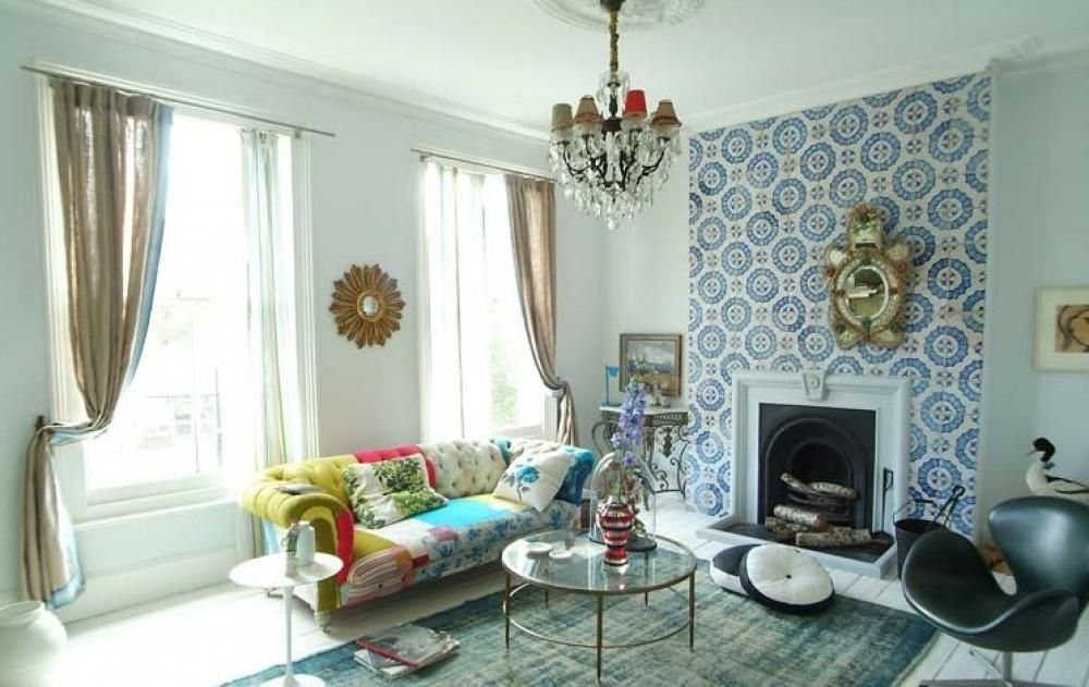 If You'd Like To Give Your Living Room A Retro Makeover You May