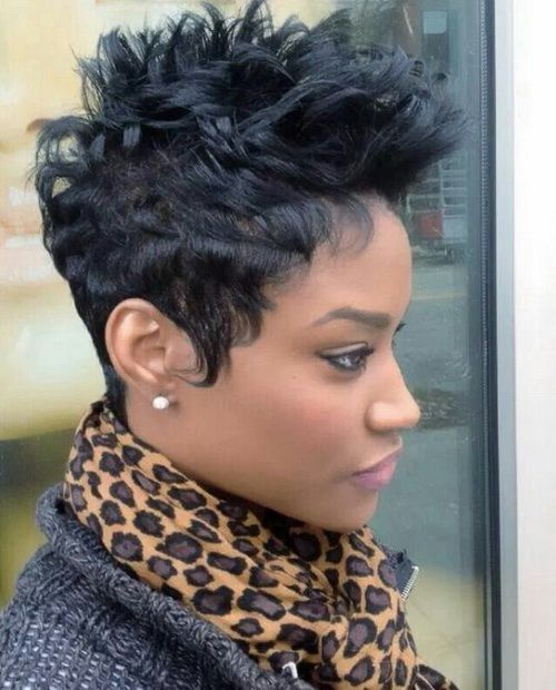 FUNKY SHORT HAIRCUTS FOR BLACK WOMEN GREAT PIXIE SHORT HAIRCUTS