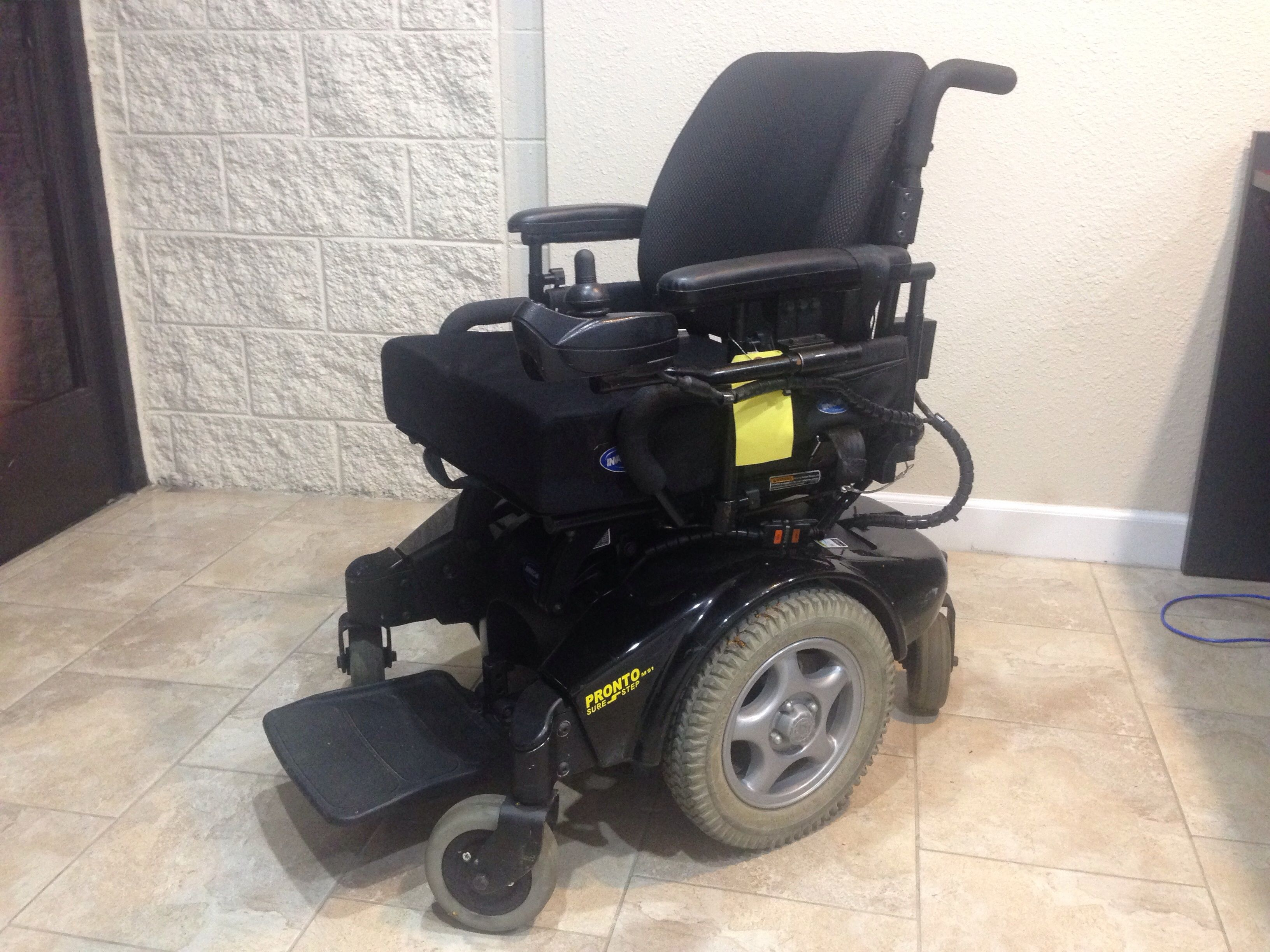 Pronto Power Chair Invacare Pronto M91 Sure Step Power Chair Https Www