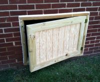 Crawl Space Doors | Possible Projects | Pinterest | Crawl ...