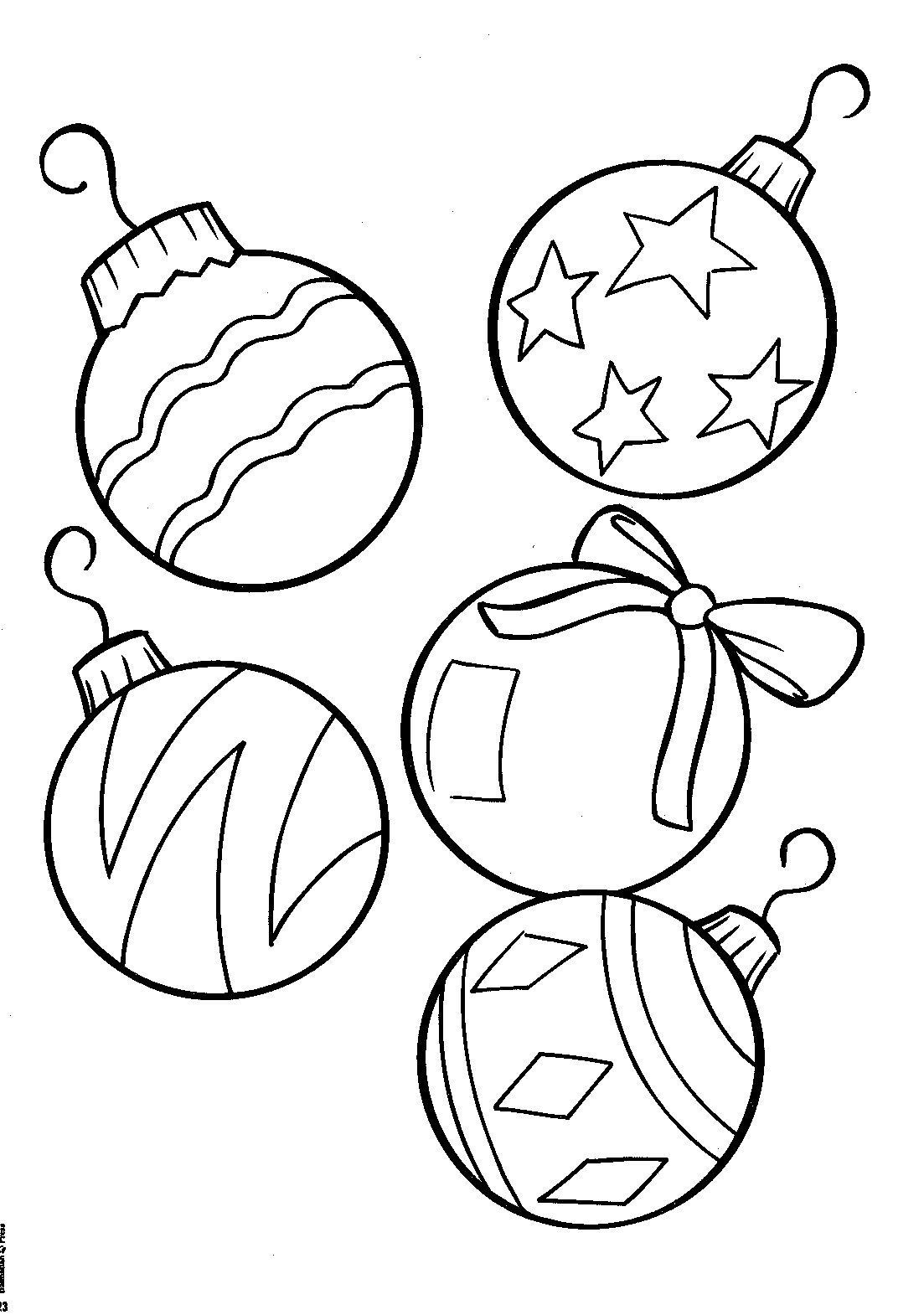 Pin By I T On Coloring Christmas Decorations Pinterest