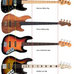 P Bass Body Dimensions Funny Exercise Diagram Fun Look At Where They All Line Up Jazz
