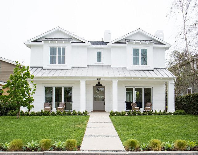 Newport Heights Modern Farmhouse! Gray Front Doors Exterior