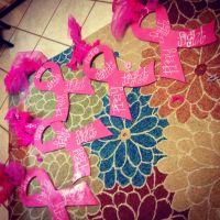 Diy crafts and decor, Breast cancer ribbons, pink, diy ...