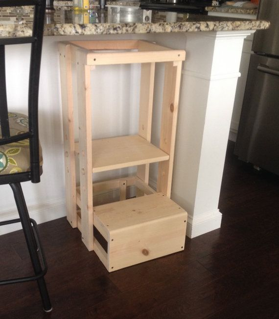 This Childs Kitchen Helper Step Stool which our grandson