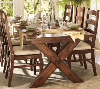 Pottery Barn Toscana dining set. so comfy and casual