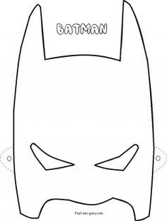 superhero face stencils Google Search DIY Stencils