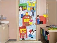 Community Helpers Door Decoration - perfect for our ...