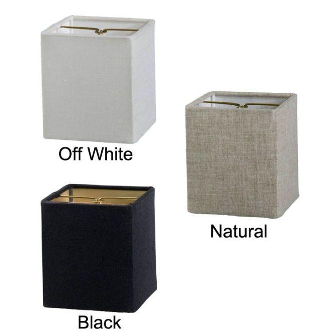 Chandelier Shade Mini Retro Square Hardback Fine Linen 00713f Antique Lamp Supply