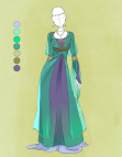 Anime Medieval Outfit