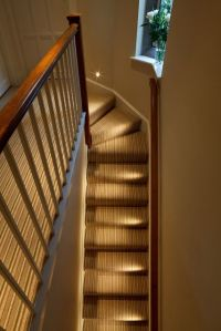 indoor stair lighting: Extravagant stair design with ...