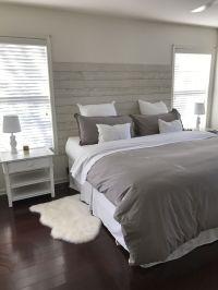 DIY shiplap headboard  | Home sweet home | Pinterest ...