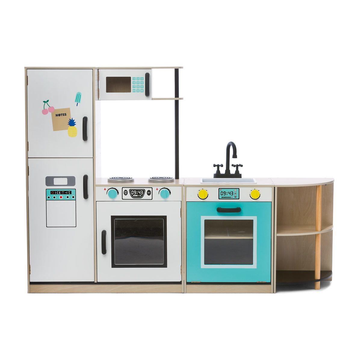 3 piece kitchen set driftwood table interchangeable kmart babies to