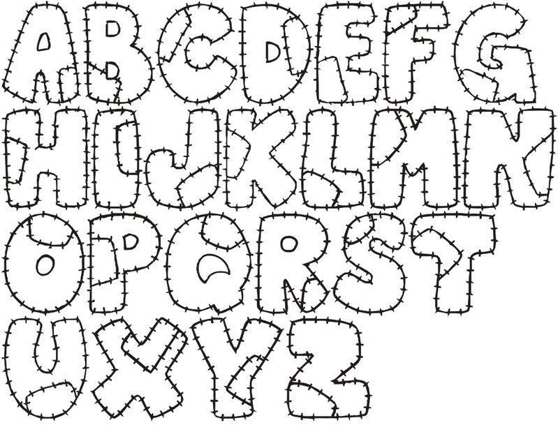 Moldes De Letra Para Murales Imagui Letras Para Decorar