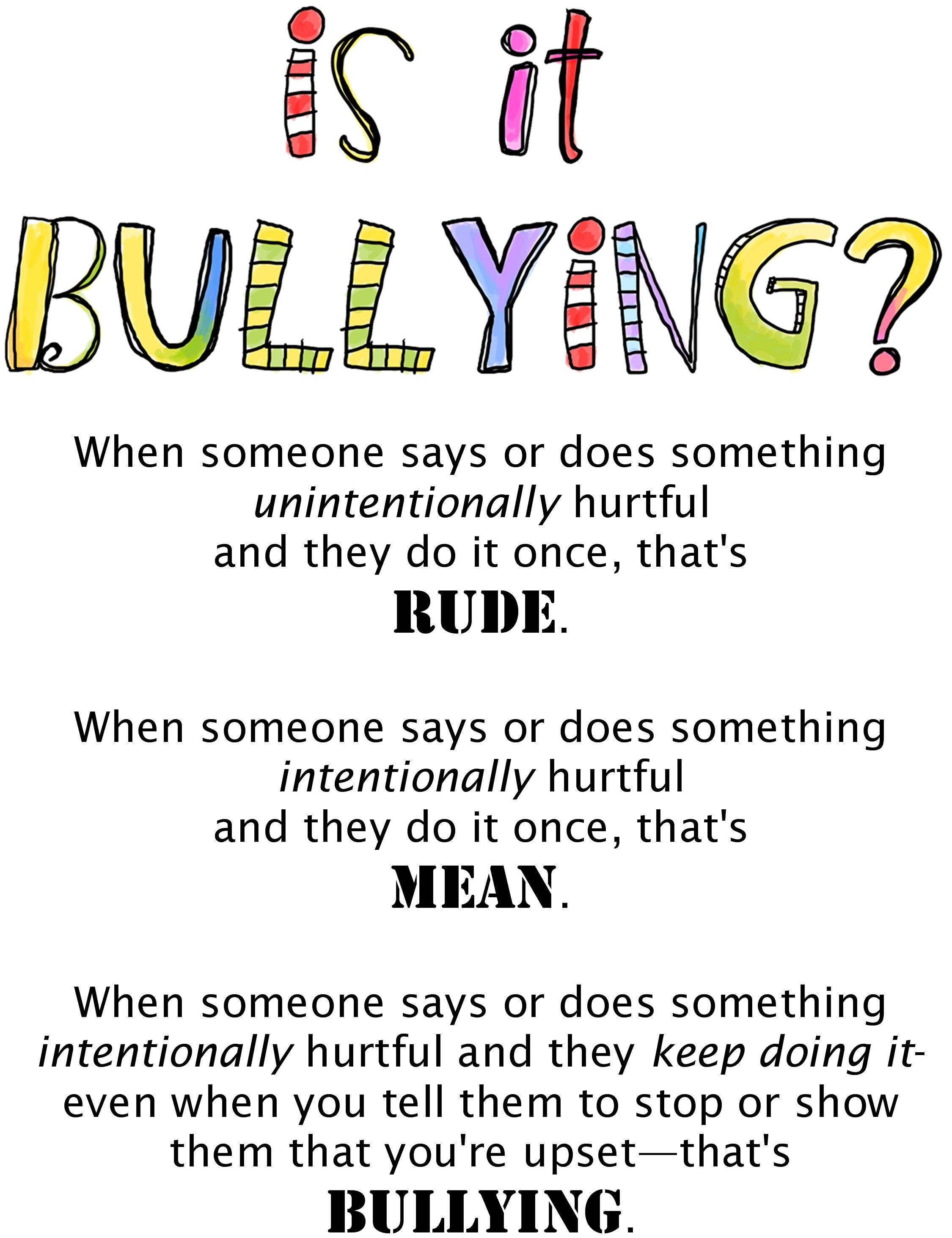 Best 25 Bullying Ideas