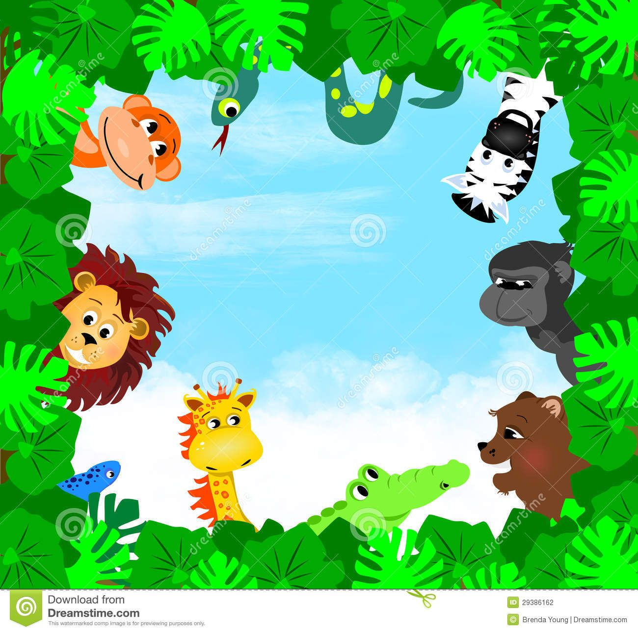 Jungle Animals Hd Pictures 4 Hd Wallpapers