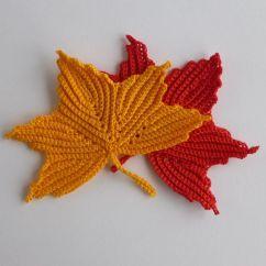 Free Leaf Crochet Pattern Diagram 2001 Mitsubishi Eclipse Wiring Maple Motifs Irish Crocheting And