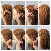 ladder braid tutorial step