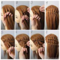 ladder braid tutorial step by step - Google Search | girls ...
