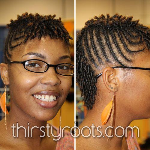 Braid Hairstyles For Short Hair Natural Hair Short Hairstyles