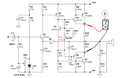 Getting Bias Current of an Output Transistor of an