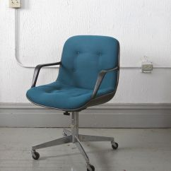 Steelcase Vintage Chair Metal Kitchen Office 125 Chicago Http