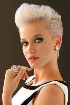 20 Stylish Very Short Hairstyles For Women Short Pixie 20 And
