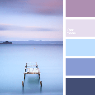 Perfect color combination for a room where you relax