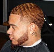 wave taper with beard fresh