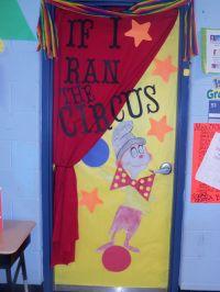 If I ran the circus | Door Decorating | Pinterest | Circus ...